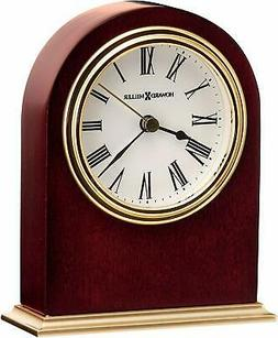 Howard Miller Craven Table Clock 645-401–Wooden & Round w/