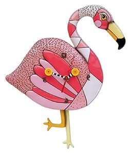 Allen Designs Crazy Legs Flamingo Pendulum Clock by