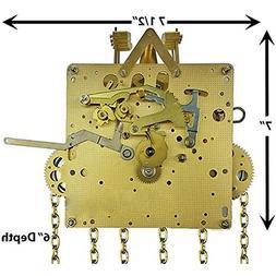 Hermle Creative Clock 451-050 Chain Drive Grandfather Clock