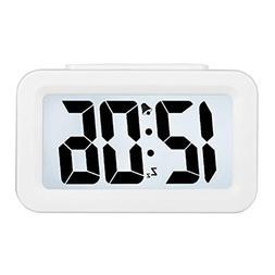 Hense Creative Smart Nightlight Alarm Clock Bedside Desk Tab