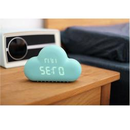 Creative Small Alarm Clock In The Shape Of Cloud USB Battery