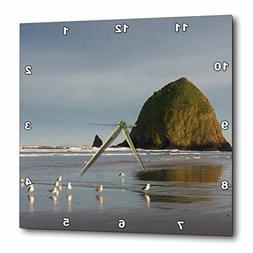 3dRose Danita Delimont - Beaches - Haystack Rock on Cannon B