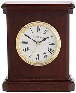 Dark Cherry Table Top Clock with Beveled Sides
