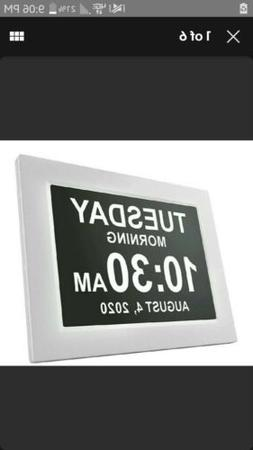 Day Clock - The Original Impaired Vision Digital Clock with