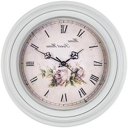 Bernhard Products Large Decorative Wall Clock 14 Inch, Tradi