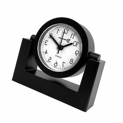 Timekeeper Desktop Swivel Clock for Desk | Shelf | Tabletop,