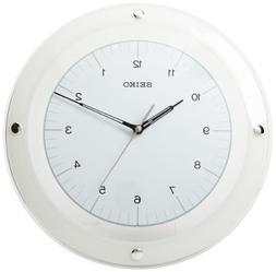 "Seiko 12.6"" Dial Wall Clock"