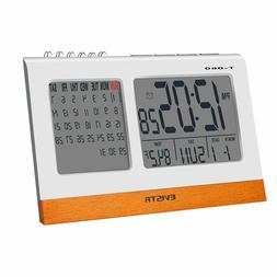 Digital Clock Large Display - Desk Clock with Calendar, Date