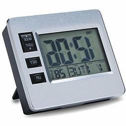 Digital Desk Clock Magnetic Bedroom Put On Table For Seniors