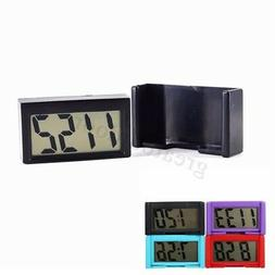 Digital LCD Home Office Table Car Dashboard Desk Date Time C