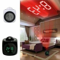 Digital Time Alarm Clock with Voice Talking Wall LED Project