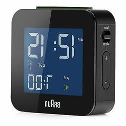 Braun: Digital Travel Alarm Clock - Black