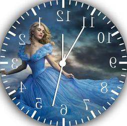 Disney Cinderella Frameless Borderless Wall Clock For Gifts