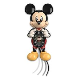 Disney Mickey Mouse Wall Clock with Moving Eyes and Tail by