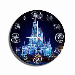 Disney World 11.8'' Handmade Art Wall Clock - Get Unique