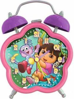 Nickelodeon Dora the Explorer DEC196 Quartz Analog Alarm Clo