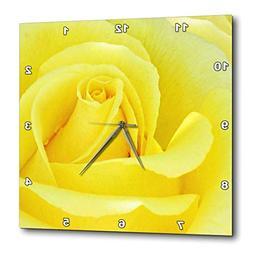 3dRose DPP_113128_1 Yellow Rose Flower Macro Floral Photogra