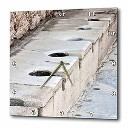 3dRose dpp_51711_2 Scholastica Baths-Latrines, Toilets, Ephe