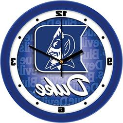 Duke Blue Devils Dimension Wall Clock