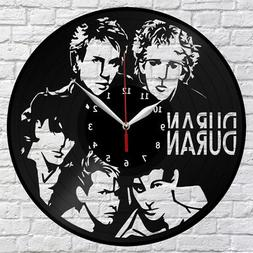 Duran Duran Vinyl Record Wall Clock Home Decor Fan Art Origi