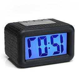 Easy Setting, Plumeet Digital Alarm Clock with Snooze and Ni