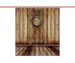 Eco-Friendly Shower Curtain  Fabric Bathroom Decor Set with