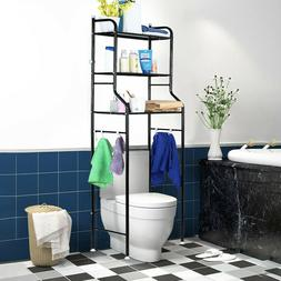 3-Tier Towel Storage Rack Over Toilet Laundry Washing Machin