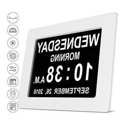 Extra Large Digital Alarm Clock LED Multi Functional Table C