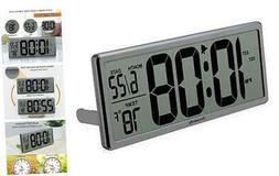 Extra Large Digital Wall Clock, Desk Clock, Auto Time Self S