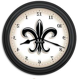 Fleur-de-lis Wall Clock - Kitchen Home French Decor France N