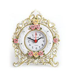 Maples Clock Floral Table Clock