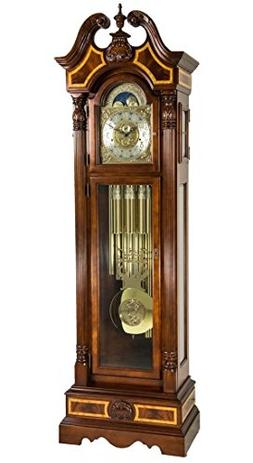 Hermle Foreman Grandfather Clock With Tubular Chime Made in