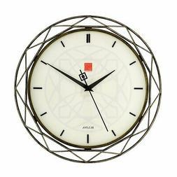 Bulova Frank Lloyd Wright C4834 LUXER PRISM Wall Clock