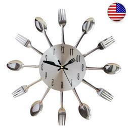 Funny Large Wall Clock Big Watch 3D Stickers DIY Wall Modern