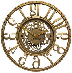 Gear - Open Dial Resin Clock Open Dial Resin Gear Clock