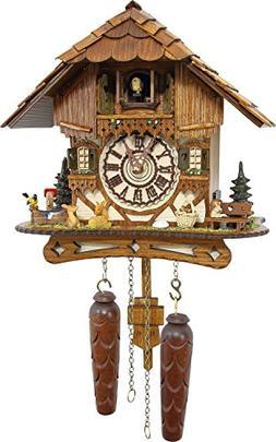 Cuckoo-Palace German Cuckoo Clock - Blackforest Hillside Cha