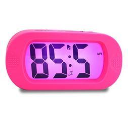 Girls Alarm Clock, Samshow Desk Clock, Travel Alarm Clock, P
