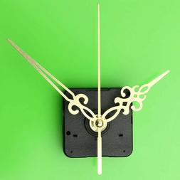 Gold Hands DIY Wall Quartz Clock Movement Mechanism Replacem