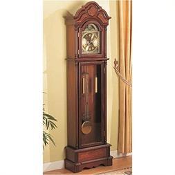 Bowery Hill Grandfather Clock in Oak