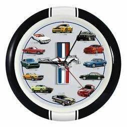 History of Mustang Sound Clock