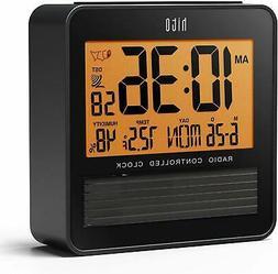hito 3.7 Digital Battery Atomic Bedside Travel Alarm Clock S