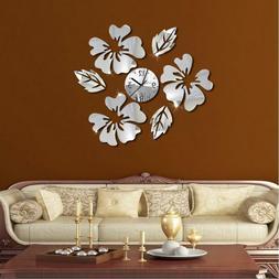 Home Decoration Wall Clock  Modern DIY Design Watches Quartz