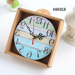 Home Garden Room Antique Decor Wall Clocks Decoration Clock