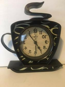 Home Kitchen Office Decor 3D Coffee Cup Time Tabletop / Wall