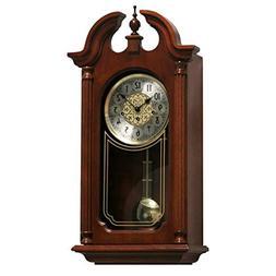 Qwirly Hopewell Mechanical Regulator Wall Clock #70820N90341