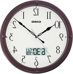 Casio Ic-01-5 Wall Clock with Day and Date Analog Digital Di