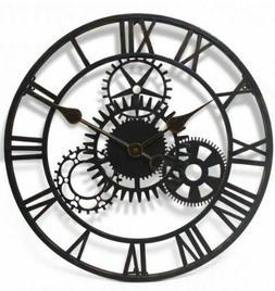 Jonart Design The Cogg 51cm Giant Garden Wall Clock Metal Ou