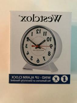 Westclox Keywound Loud Bell Analog Alarm Clock