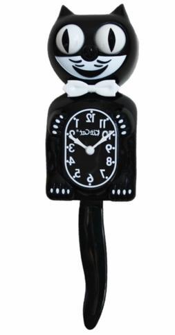 Kit Kat Clock Black Vintage Wall Tail Klock Classic ORIGINAL