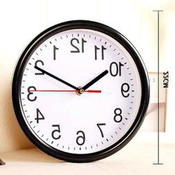 Kitchen Quartz Large Silent Analogue Round Wall Fresh Clock